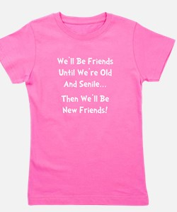 New Friends Girl's Tee