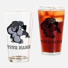 Big Gorilla (Custom) Drinking Glass