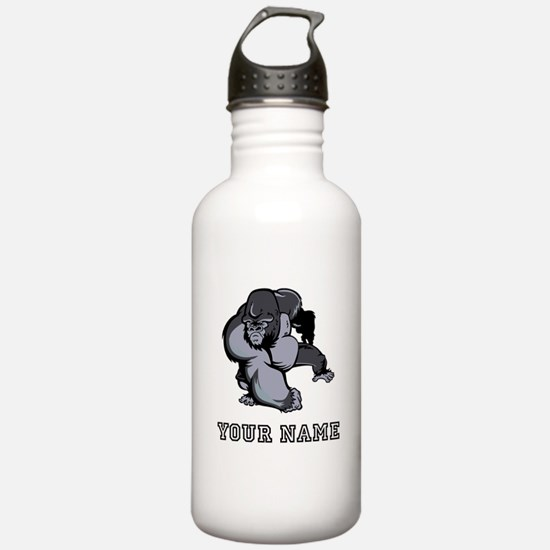 Big Gorilla (Custom) Water Bottle
