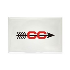 Cross Country Logo Magnets