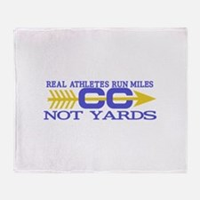 Real Athletes Throw Blanket