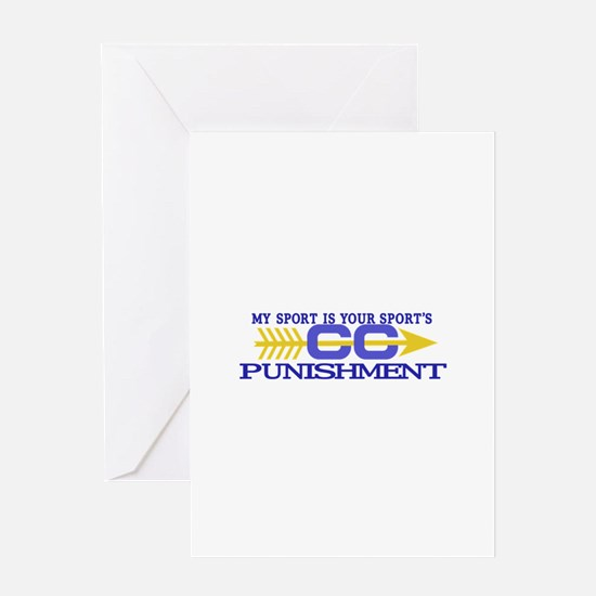 My Sport/Punishment Greeting Cards