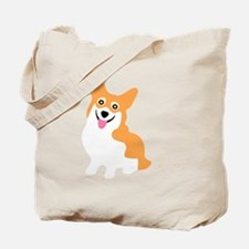 Cool Pembroke welsh corgis Tote Bag