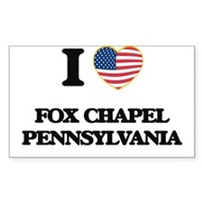 I love Fox Chapel Pennsylvania Decal