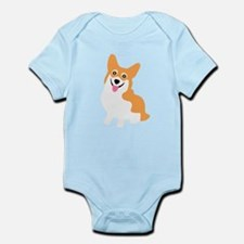 Cute Corgi Dog Body Suit