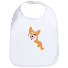 Cute Corgi Dog Bib