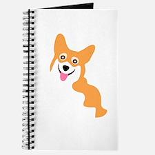 Cute Corgi Dog Journal