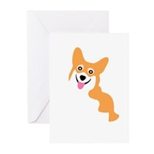 Cute Corgi Dog Greeting Cards