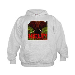 Help Elephant Hoodie