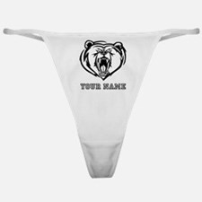 Mean Bear (Custom) Classic Thong