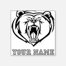 Mean Bear (Custom) Sticker