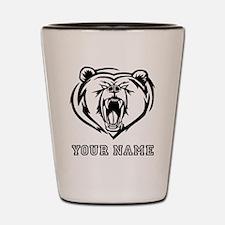 Mean Bear (Custom) Shot Glass