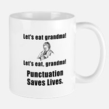 Lets Eat Grandma Mugs