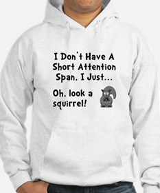 Short Attention Hoodie