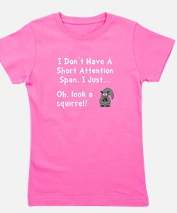 Short Attention Girl's Tee