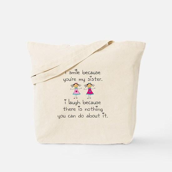 Sister Smile Tote Bag