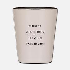 Unique Dental hygienist Shot Glass