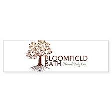 Bloomfield Bath Logo Bumper Bumper Sticker