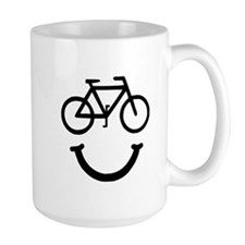 Bike Smile Mugs