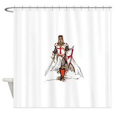Templar Knight Shower Curtain