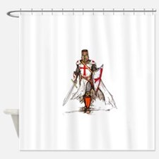 Templar Knight Shower Curtain
