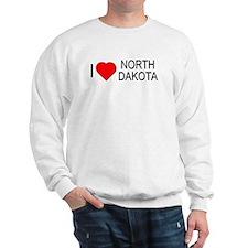 I love North Dakota Sweatshirt