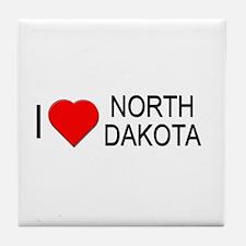 I love North Dakota Tile Coaster