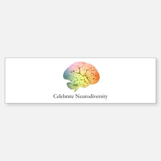 Celebrate Neurodiversity Sticker (Bumper)