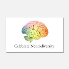 Celebrate Neurodiversity Car Magnet 20 x 12