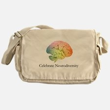 Celebrate Neurodiversity Messenger Bag