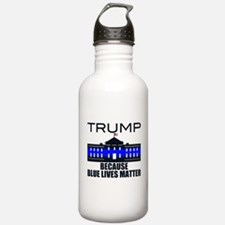 Trump men in blue Water Bottle