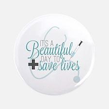 Greys Anatomy Beautiful Day Button