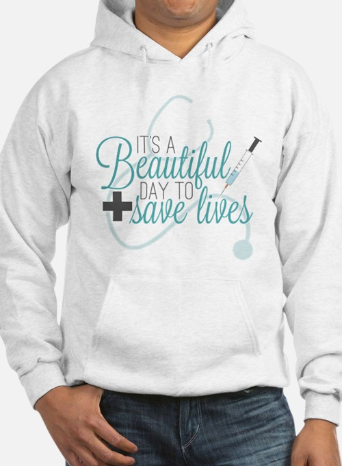 Greys Anatomy Beautiful Day Jumper Hoody
