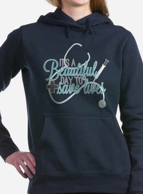 Greys Anatomy Beautiful Women's Hooded Sweatshirt