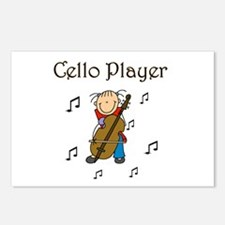 Cello Player Postcards (Package of 8)