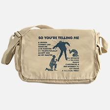 Zombie Jezabub Messenger Bag