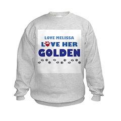 Melissa Golden Sweatshirt