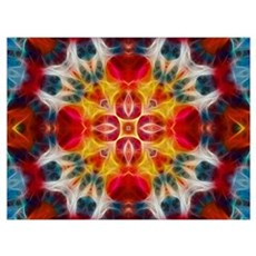 kaleidoscope_001 Framed Print