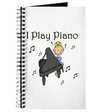 I Play Piano Journal