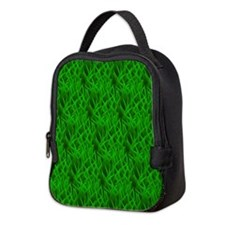 Grass Neoprene Lunch Bag
