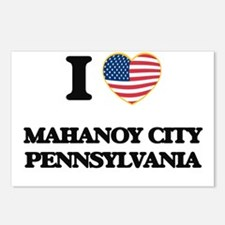 I love Mahanoy City Penns Postcards (Package of 8)