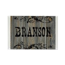 Cute Western theme Rectangle Magnet