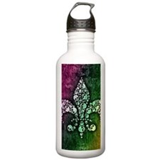 Unique Fleur de lis Water Bottle
