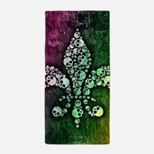 Cute Mardi gras Beach Towel