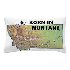 MONTANA BORN Pillow Case