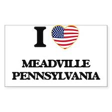 I love Meadville Pennsylvania Decal