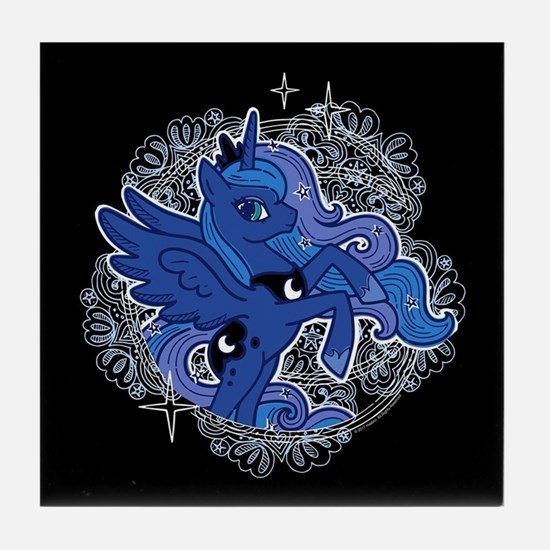 My Little Pony Princess Luna Tile Coaster