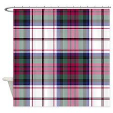 Tartan-MacDuff dress Shower Curtain