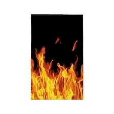 Flames Area Rug