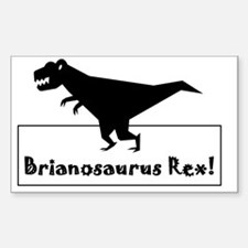 Brainosaurus Rex Decal